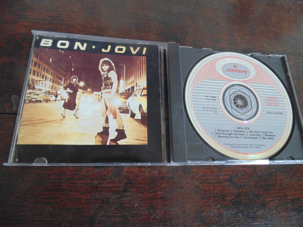 Bon Jovi CD, Self-titled, S/T, Same, Runaway
