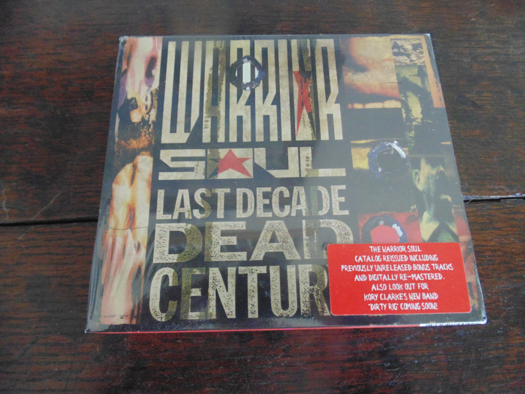 Warrior Soul CD, Last Decade Dead Century, Slipcase, Bonus Trks, Remastered