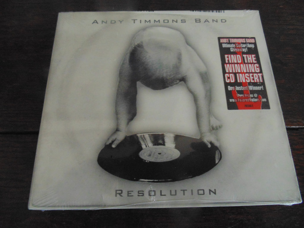 Andy Timmons CD, Resolution, Danger Danger, Digi 2006