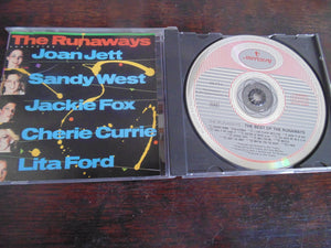 The Runaways, The Best of, Greatest Hits, Lita Ford, Joan Jett