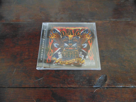 Rebel Meets Rebel CD, David Allan Coe, Pantera, NEW