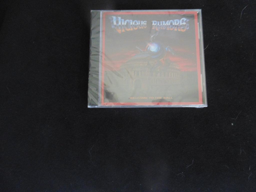 Vicious Rumors CD, Welcome to the Ball, Wounded Bird Records, NEW