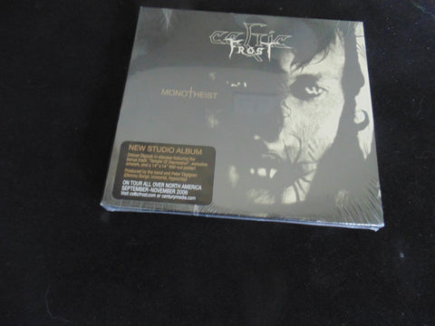 Celtic Frost CD, Monotheist, Bonus track, exclusive artwork, fold-out poster, slip-case