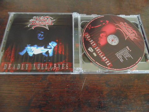 King Diamond, CD, Deadly Lullabyes, Live, Mercyful Fate 2 CD