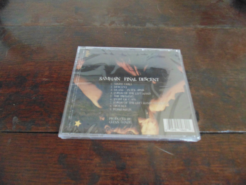 Samhain CD, Final Descent, NEW, 2001 EviLive Records / E-Magine EMA 6 1062-2, NEW