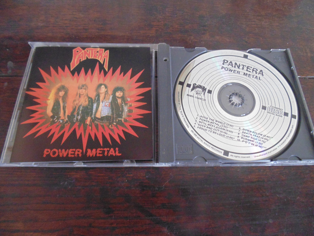Pantera CD, Power Metal, Metal Magic Records, MMR-1988CD