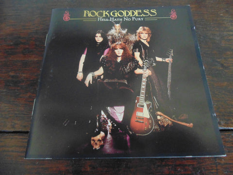 Rock Goddess CD, 2 CD, Hell Hath No Fury & Self-titled, S/T, Same, 2 Albums