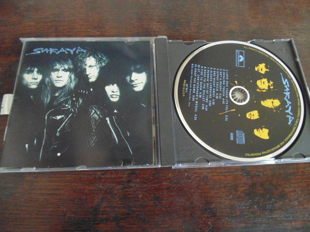 Saraya CD, Self-titled, S/T, Same, Original Polydor
