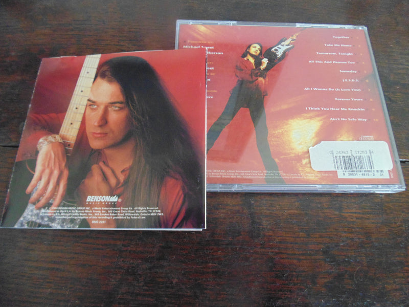 Michael Sweet CD, Self-titled, S/T, Same, 1994, Stryper