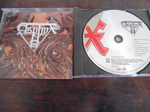 Asphyx CD, The Rack, 1991 Century Media, CM 7716-2