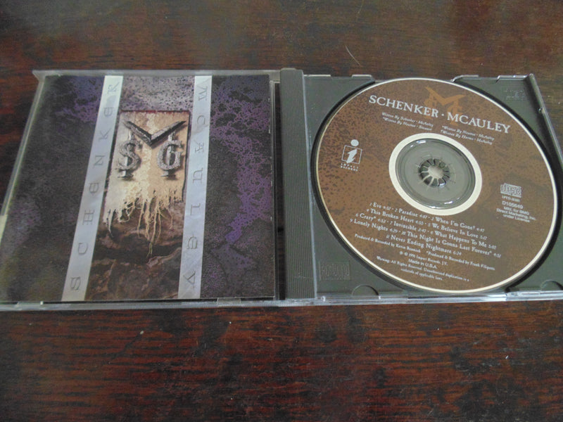 MSG CD, Mcauley Schenker, Michael, Self-titled, S/T, Same, 1991, BMG