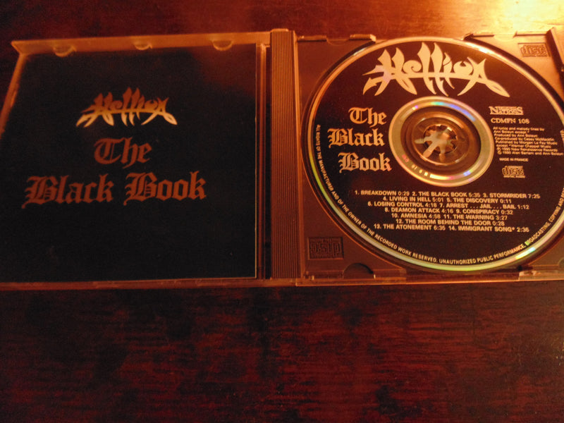 Hellion CD, The Black Book, Music for Nations