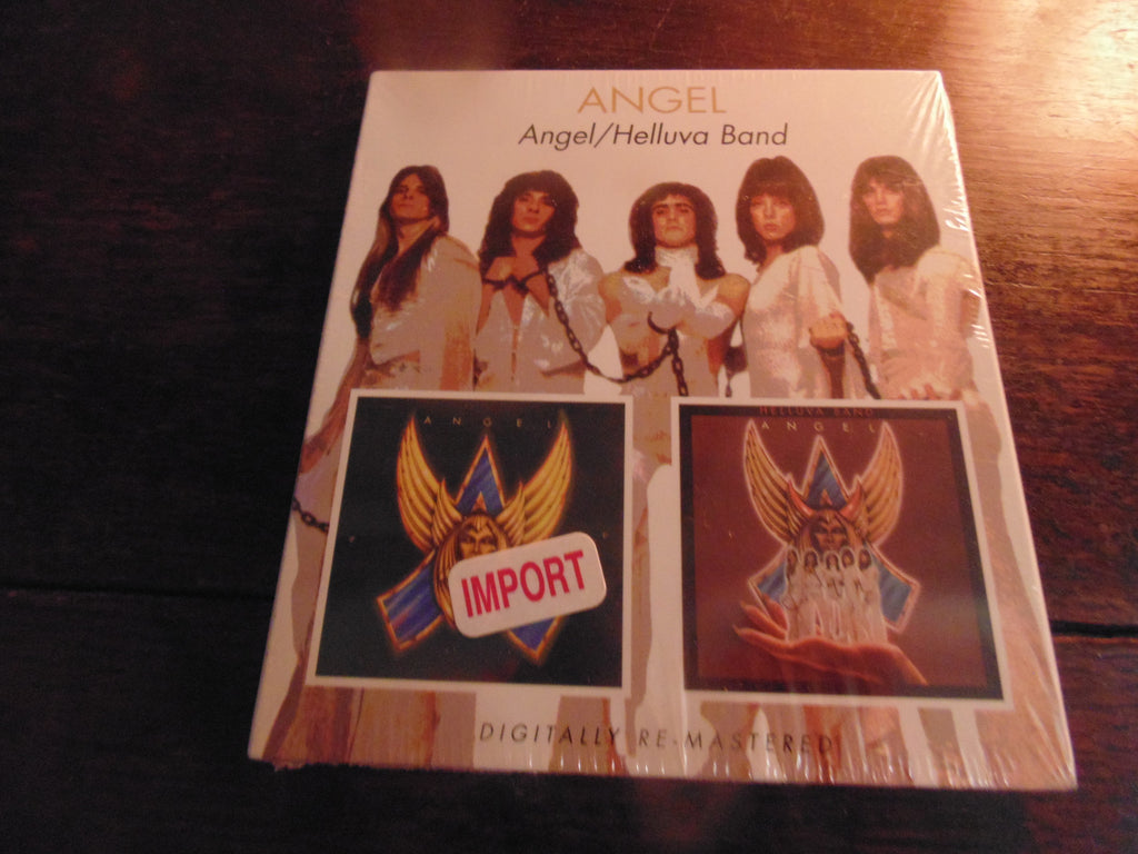 Angel CD, 2 CD, Self-titled & Helluva Band, S/T, Same, Giuffria, House of Lords, Import, Remastered
