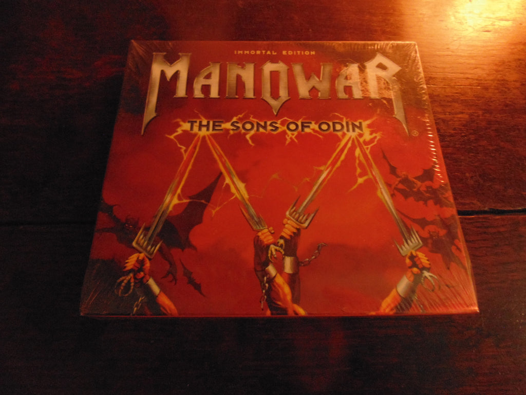 Manowar CD, The Sons of Odin, Immortal Edition, CD / DVD, NEW