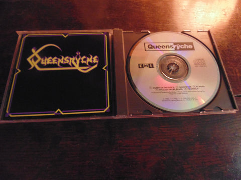 Queensryche CD, Self-titled, S/T, Same, EP, Geoff Tate CDP-7-90615-2