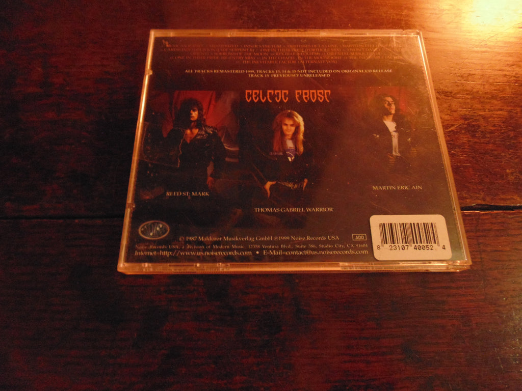 Celtic Frost CD, Into the Pandemonium, Noise Records, 1999 Remaster N 0067 2 UX