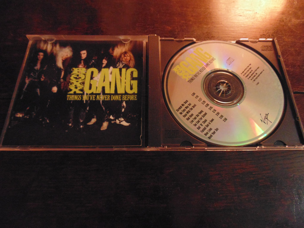 Roxx Gang CD, Things You've Never Done Before, Original Virgin Pressing