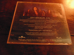 Kik Tracee CD, Don't Need Rules, Rare CD Single, Dana Strum, Kick