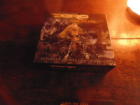 Doro CD, Fear No Evil, Box Set, Ultimate Collector's Edition, 3 CD, NEW, Warlock, Pesch