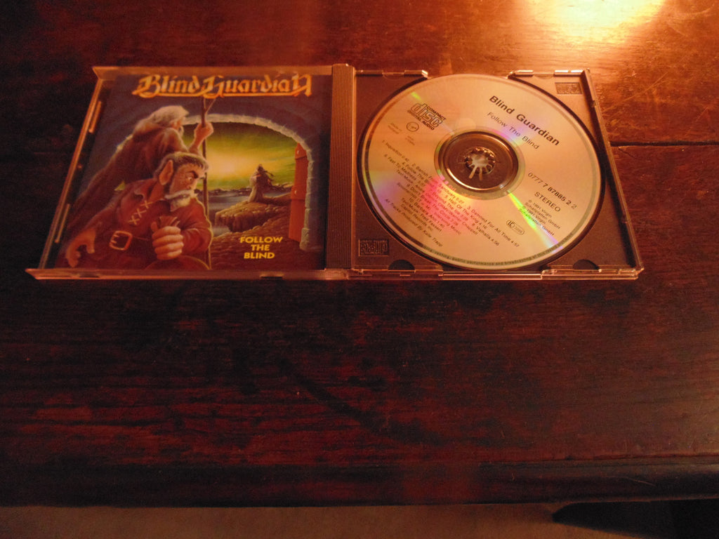 Blind Guardian CD, Follow the Blind, 1991 Virgin Records