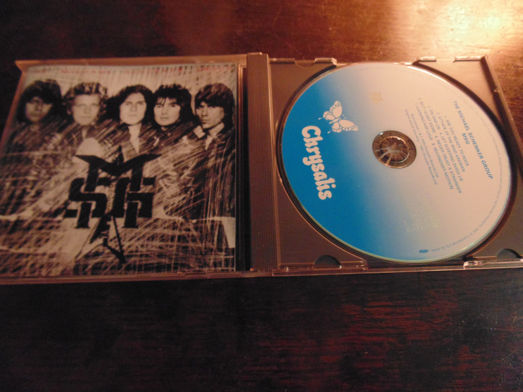 Michael Schenker Group CD, MSG, Japanese Import TOCP-53139, Cozy Powell