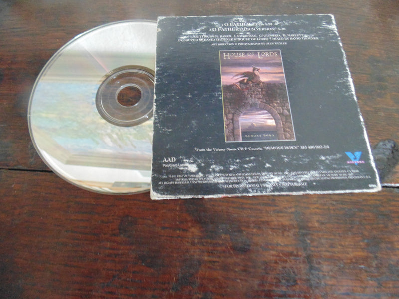 House of Lords CD, O Father, CD single, Rare, Giuffria, Angel