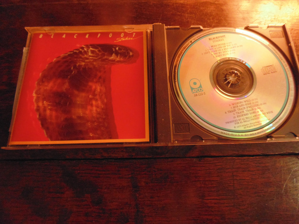 Blackfoot CD, Strikes, ATCO, Lynyrd Skynyrd, Original Pressing