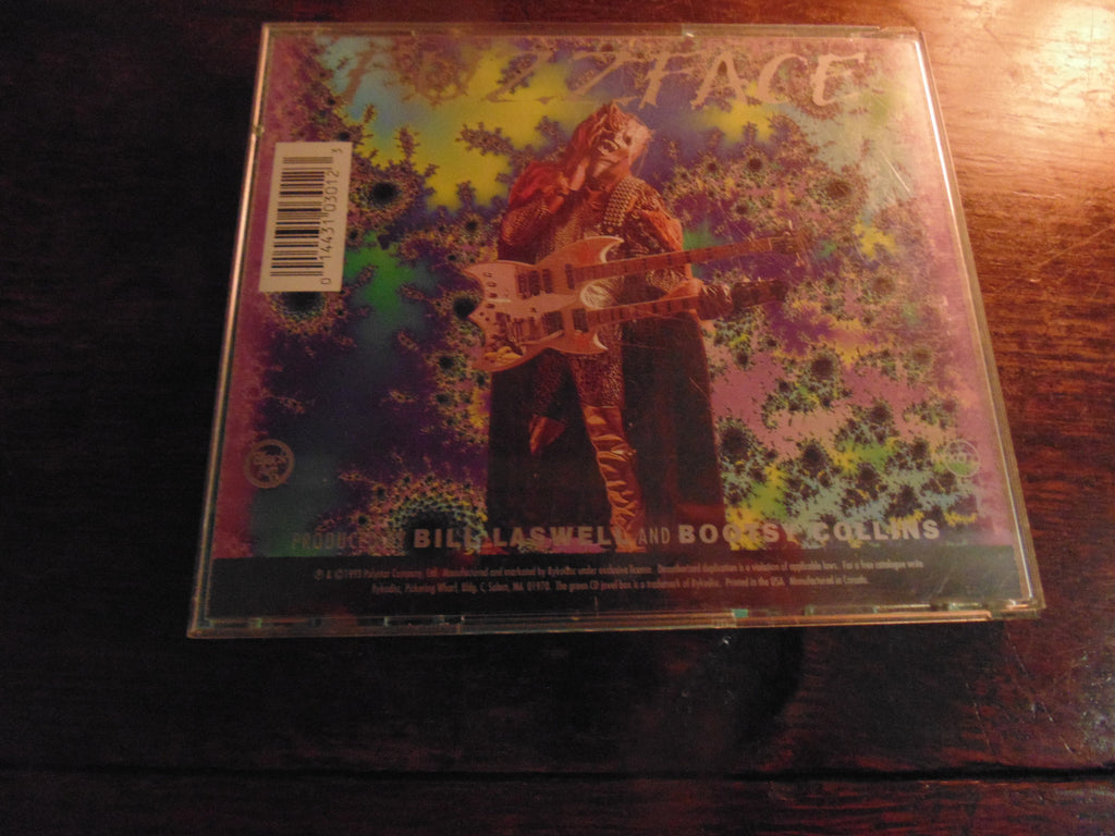 Zillatron CD, Lord of the Harvest, Bootsy Collins, Ryko, Buckethead, Bernie Worrell, Bill Laswell