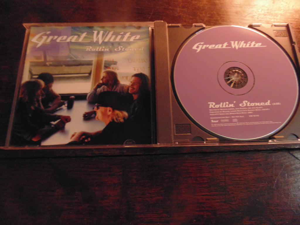 Great White CD, Rollin Stoned, CD Single, Portrait