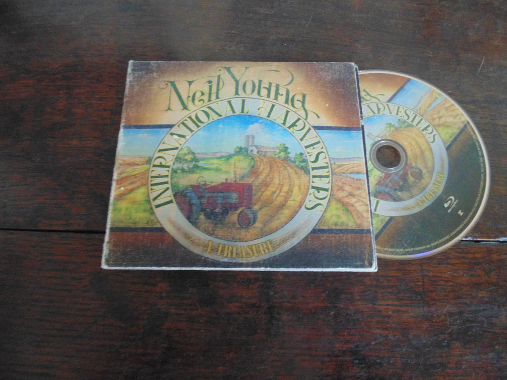 Neil Young, International Harvesters, A Treasure, Blu ray ONLY