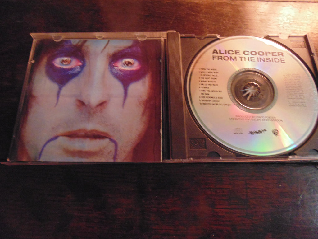 Alice Cooper CD, From the Inside, 1990 Metal Blade Records