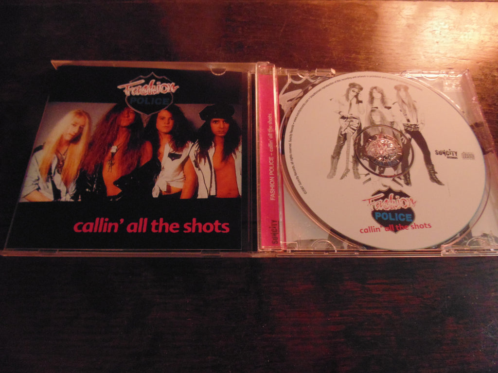 Fashion Police CD, Callin all the Shots, Suncity Records