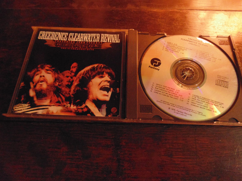 Creedence Clearwater Revival CD, Chronicle, Best, Greatest Hits, Fantasy Records