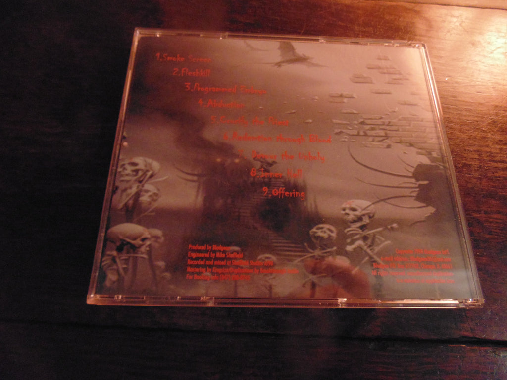 Bludgeon CD, Inner Hell, Original 1998 Independent Pressing