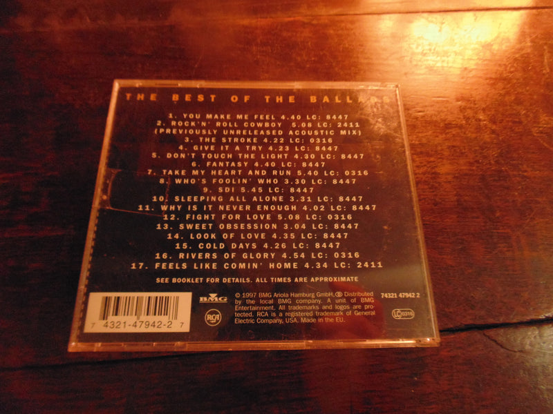 Bonfire CD, Best of the Ballads, 1986-1997, Hot & Slow, Greatest, Import, 17 Tracks