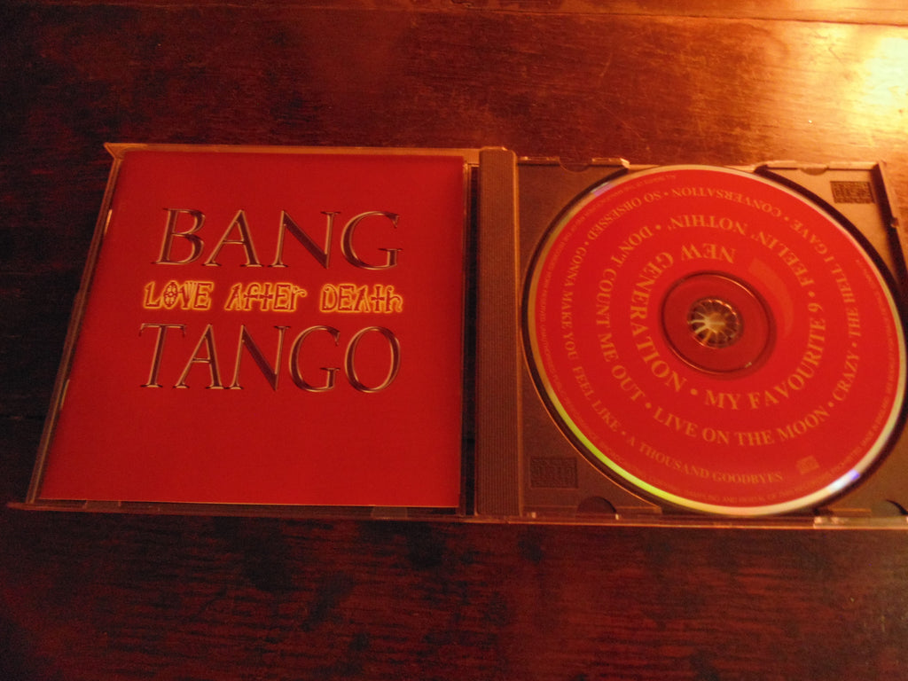 Bang Tango CD, Love After Death, Music for Nations Pressing, OOP