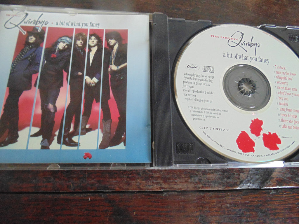 The London Quireboys CD, a bit of what you fancy, Original Capitol