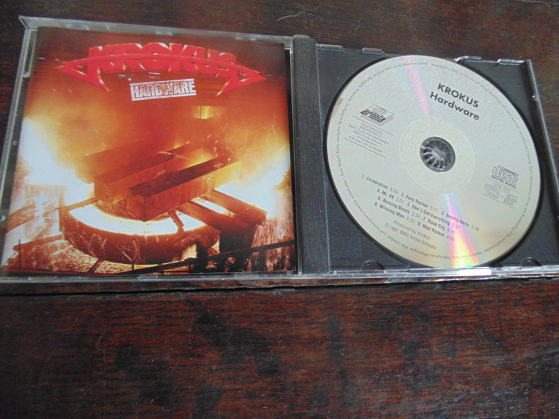 Krokus CD, Hardware, Original German Pressing - 253 322