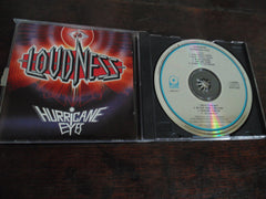Loudness CD, Hurricane Eyes, Original Pressing
