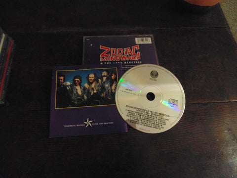 Zodiac Mindwarp & the Love Reaction CD, Tattooed Beat Messiah, Vertigo Pressing