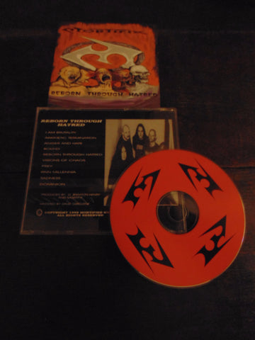Mortifix CD, Reborn Through Hatred, 1999 Mortified Music
