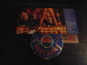Roxy Blue CD, Want Some?, Banned Cover, Geffen Records