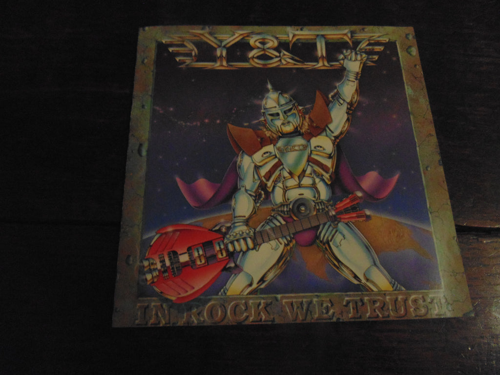 Y&T CD, In Rock We Trust, Original A&M Pressing