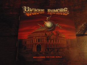 Vicious Rumors CD, Welcome to the Ball, Original 1991 Pressing