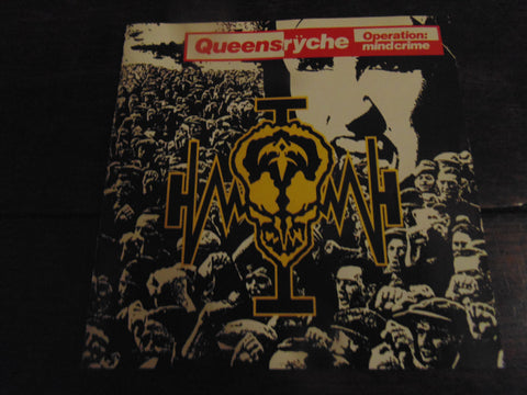 Queensryche CD, Operation Mindcrime, Original Pressing