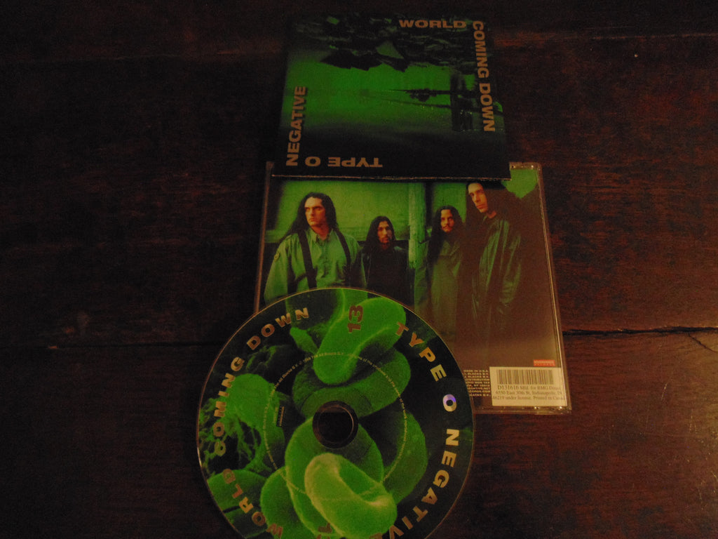 Type O Negative CD, World Coming Down, BMG