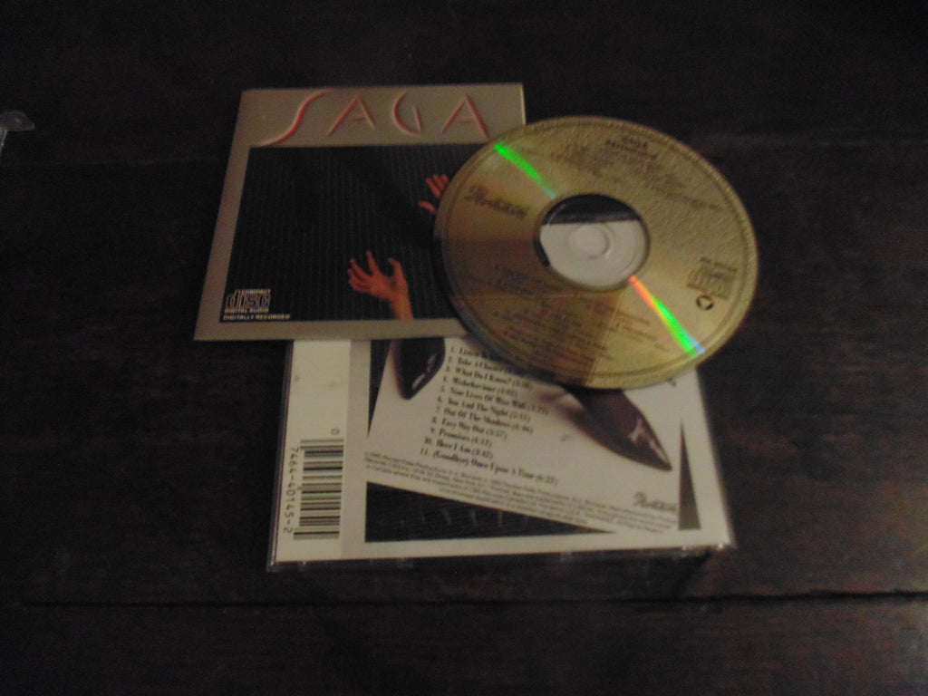 Saga CD, Behaviour, Behavior, Original Pressing