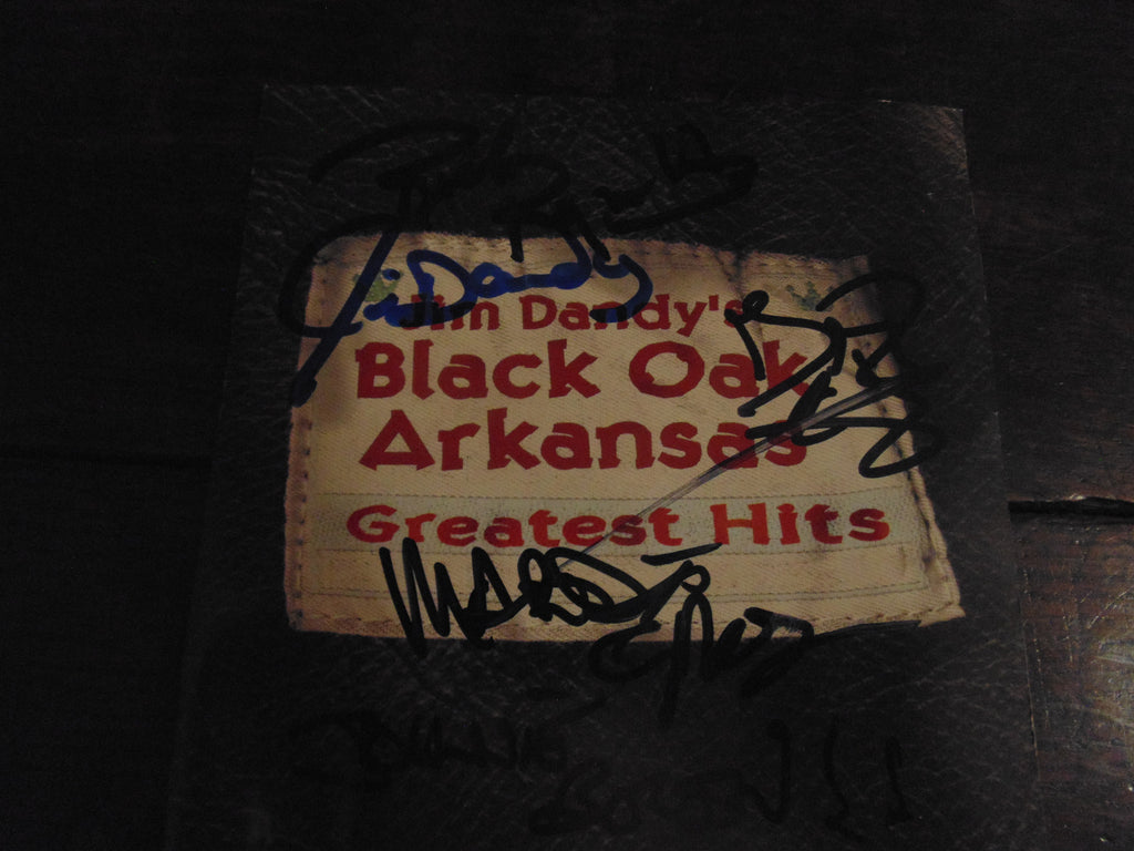 Black Oak Arkansas CD, Greatest Hits, Jim Dandy, Best of, Limited Gold Disc, Signed