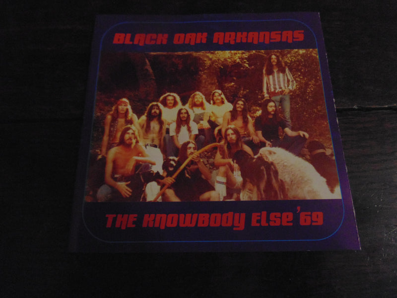 Black Oak Arkansas CD, The Knowbody Else '69, Rare Debut Release, Out of Print