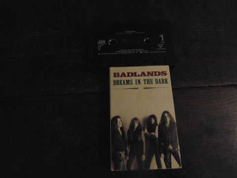 "Badlands Cassette Single, ""Dreams in the Dark"", Jake E Lee, Ozzy, KISS"